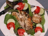 Grilled Balsamic Chicken Caprese Salad Recipe