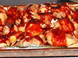 Healthier Baked Barbecued Chicken Leg Recipe