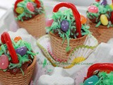 Ice Cone Easter Baskets Recipe