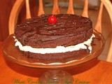 Italian Chocolate Cream Birthday Cake Recipe