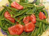 Italian Green Bean and Tomato Salad Recipe