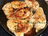 Italian Sauteed Rosemary Basil Chicken Recipe