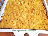 Italian Style Cavatappi and Cheese Recipe