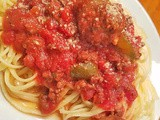 Mom's East End Sausage Pasta Sauce Recipe