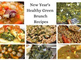 New Year's Healthy Green Brunch Recipes