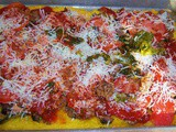 Polenta Pizza or Appetizers