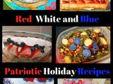 Red White and Blue Recipes