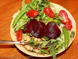 Roasted Beets Salads and Healthy Weight Loss