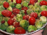 Roasted Tomato Brussels Cranberry Recipe