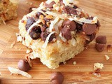 Shortbread Magic Cookie Bars