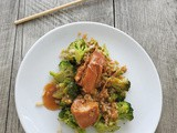 Slow Cooker Asian Chicken with Broccoli and Rice