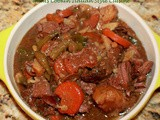 Slow Cooker Venison Merlot Stew Recipe