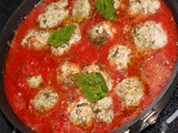 Spinach and Ricotta Dumpling with Marinara Recipe