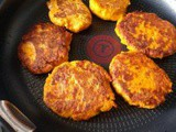 Sweet potatoes blini