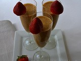 Mango strawberry fusion smoothie