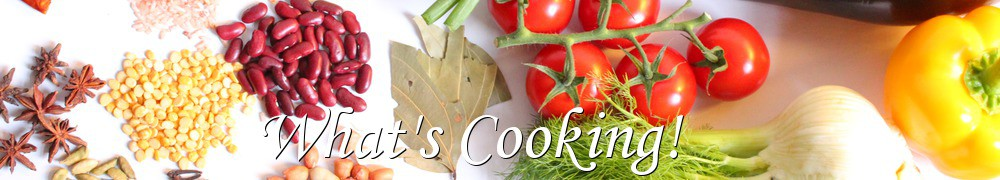 Very Good Recipes -               What's Cooking!