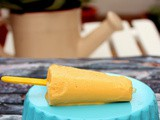 Mango Condensed Milk Ice pops - Quickie