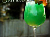 Emerald Sunrise {Cocktail}