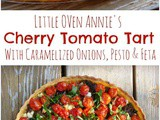 Little Oven Annie's Cherry Tomato Tart