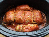 Slow Cooker Stuffed Cabbage Rolls {Polish-style Gołąbki}