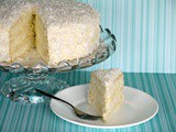 Southern-style Coconut Cake with Coconut Buttercream {from Scratch}