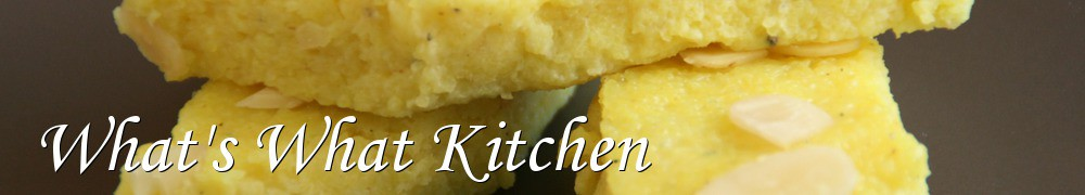 Very Good Recipes - What's What Kitchen
