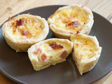 Easy basic quiche recipe for healthy breakfast quiches