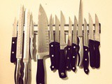 How to get and keep your kitchen knives clean and sharp