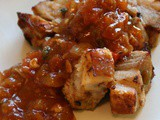 Pork belly cubes appetizer / starter recipe (slow cooker friendly)
