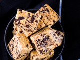 Choc Chip Cookie Dough Bars