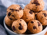 Chocolate Chip Banana Bread Bliss Balls
