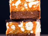 Quick and Easy Healthy Snickers Slice