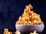 Salted Caramel And Peanut Butter Popcorn