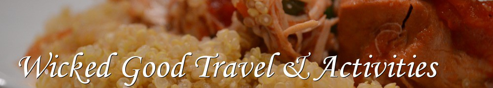Very Good Recipes - Wicked Good Travel & Activities