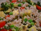 Soup & Salad: Avocado Barley Salad
