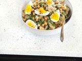 Salt Cod, Chickpea, and Egg Salad