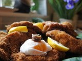Scrumptious Schnitzel and Bean Salad. The Sunday Times column (May 20th 2012)