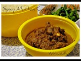 A specially spiced Mutton curry and Subho Mahanavami to all