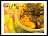 Spiced Egg curry