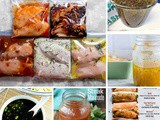 Marinade Recipes (Meats, Seafood and Vegetables)