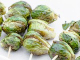 Festive Brussels Sprout Kabab with Sweet Chili Sauce