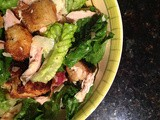 Bacon Chicken Caesar Salad