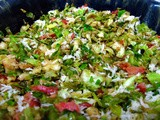 Shredded Sprouts Salad