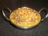 Cashew Nuts Chickpea Coconut Curry