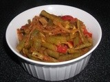 Green Bean Curry With Peppers