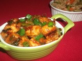 Paneer Manchurian Recipe (Dry And With Gravy)