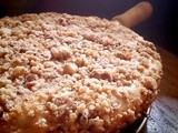 Banana Walnut streusel coffee cake