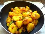 Spicy Methi Potatoes