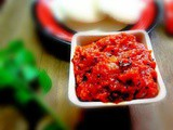 Vegetable chutney ( no coconut )