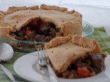 Beef Pie With Marsala Sauce And Mushrooms